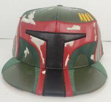 New Era Caps Star Wars Boba Fett Mandalorian 7 3/4 Hat Leather