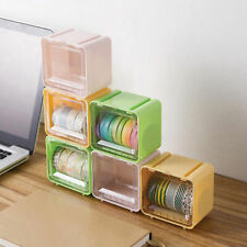 Tape Storage Boxes Multi Purpose Stable Plastic Useful For Office