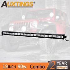Super Mini 20inch 90W Led Light Bar Combo Single Row Work Driving Lights 4x4 SUV