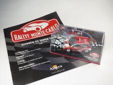 1/43 Diecast CITROËN C2 S1600 Rallye Monte Carlo SORDO 2005 ALTAYA + Booklet