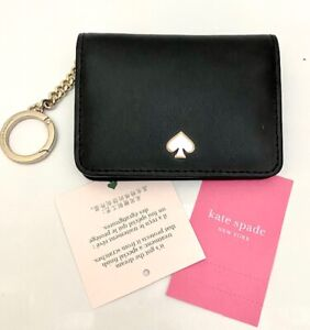 KATE SPADE Slim Bifold Card/Key Holder WLRU5493 Nadine NEW!