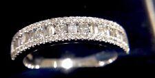 Exquisite Diamond Dress Ring, Clarity VS1/H, Baguette/Round Diamonds, Stunning.