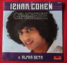 Izhar Cohen & Alpha Beta, gingette / blue, SP - 45 tours