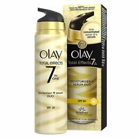 Olay Total Effects Moisturiser & Serum 2-In-1 Duo SPF20 Non-Greasy Formula 40ml