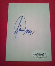 Jamie Moyer Cut Index Card Autograph   JSA   Signed   Auto