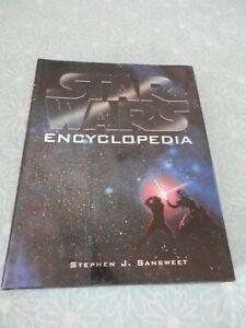"""Star Wars"" Encyclopedia by Sansweet, Stephen J. 185227736X Fast Free Shipping!"