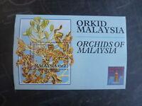 1994 MALAYSIA ORCHIDS OF MALAYSIA HONK KONG '94 STAMP MINI SHEET MNH