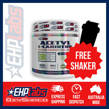 EHPlabs Acetyl L-Carnitine 100 Serves | Free Shaker & Shipping
