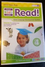 Your Baby Can Read Vol 4 New DVD Video Early Development System Children Reading