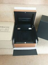 GENUINE OFFICINE PANERAI PEARWOOD BOX WITH CARDBOARD, BLACK OUTER AND FOAM INNER