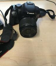 Canon camera EO5 Rebel T2i  with Samsonite case + 1 battery LENS MAKE BLURR PICS