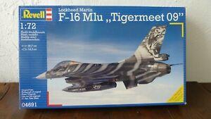 MAQUETTE D'AVION REVELL ECHELLE 1/72 F-16 MLU TIGERMEET 09