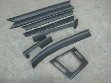 BMW E46 318i Interior Trim Set (8 pcs) Gun Metal Grey