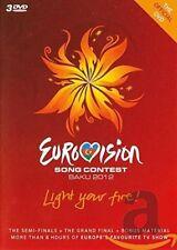 Eurovision Song Contest - Baku 2012 (DVD, 2012, 3-Disc Set)