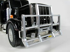 Front Aluminum Animal Bumper Guard Bar Tamiya R/C 1/14 King Grand Knight Hauler