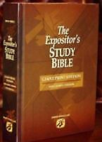 The Expositor's Study Bible - Giant Print