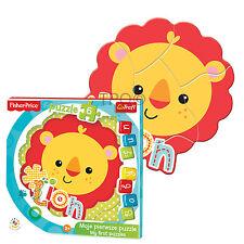 Trefl 6 pezzi bambino DIVERTENTE UNISEX LEONE CUCCIOLO a forma di telaio Puzzle
