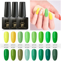 MTSSII 6ml UV LED Gel Nail Art Polish Soak Off Varnish Lacquer Manicure DIY Tips