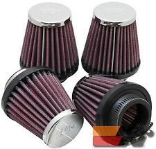 K&N Universal Clamp-On Air Filter For 1-9/16FLG,3B,2T,3H (4 PER BOX) RC-2314