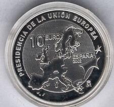 10 Euros 2002 Presidencia de la Unon Europea Plata