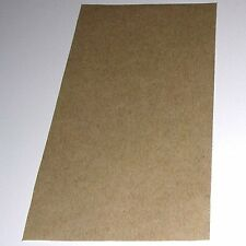 "Pressure Sensitive Non-Stick Sheet for sliding mechanism on sax etc 3""x6""x0.005"""
