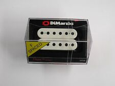DiMarzio F-spaced Titan Bridge Humbucker White W/Black Poles DP 259