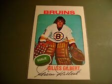 GILLES GILBERT HAND SIGNED AUTOGRAPH AUTO 4 X 6 NHL HOCKEY PHOTO BOSTON BRUINS