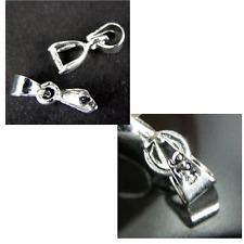 10pcs 925 Sterling Silver Jewellery Findings Pendant Bails 16mm SS2