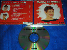 CD DISQUE D'OR MARIA de ROSSI dom GUSELLI rené SARVIL vincent SCOTTO guy BONNET