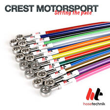 Honda Civic Coupe EM2 1.7 VTEC 2001-2003 HOSE TECHNIK Brake Lines SBH-HON-4-086