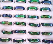 Wholesale 100Pcs 6mm Wonderful Fashion Mood Rings