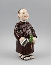 figurine en porcelaine Wakouwa Moine Albert Acier/Ens H22cm a6-41216