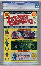Secret Origins #2 CGC NM+ 9.6 Monterey Green Lantern
