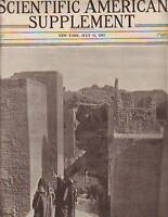 1915 Scientific American Supp July 31-Babylon excavate