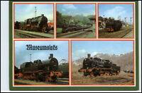 DDR Mehrbild-AK Dampflok Lokomotive Eisenbahn Motiv-AK Reichenbach Verlag Vogtl.