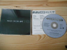CD METAL Extreme-there is no god (3 chanson) MCD A & M/presskit