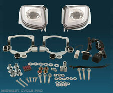 LED Rectangular Fog Light Kit- Honda Goldwing GL1800 F6B Valkyrie 2012+ #GL18RFL