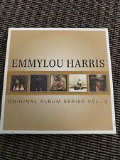 EMMYLOU HARRIS ORIGINAL ALBUM SERIES Vol.2 5 CD SET - Great Condition !!