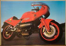 (PRL) 1988 BMW IL RACING MOTO VINTAGE AFFICHE AFFICHES ART PRINT COLLECTION
