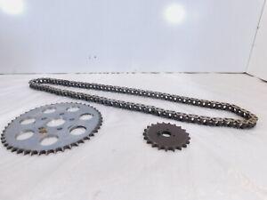 Set Harley Davidson Sportster 883 1000 1100 & 1200 Chain Drive Gear Sprockets