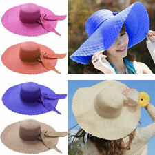 Wide Brim Unbranded Straw Hats for Women