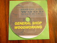 Geneeral Shop Woodworking, Trade school text  on CD-ROM, PDF