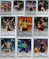 2020 Topps Road To Wrestlemania WWE Winningest Superstar Complete Ur Set U Pick