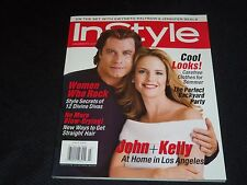 2001 JULY IN STYLE MAGAZINE - JOHN & KELLY FRONT COVER - FASHION - J 3003