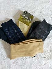 Mens Pack Of 4 Assorted Socks Size 6-11
