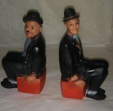 Laurel and Hardy vintage rubber squeeze squeek squeak toy early movie character
