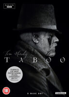 Taboo DVD (2017) Tom Hardy cert 18 3 discs ***NEW*** FREE Shipping, Save £s
