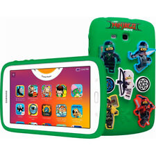 "Samsung Galaxy 7"" Kids  Tablet 8 GB Android 4.4 THE LEGO NINJAGO MOVIE in White"