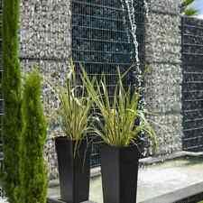 3 x 30cm Quadrato Verde FIORIERA VASO VENEZIANO FLOWER GARDEN PATIO IN PLASTICA