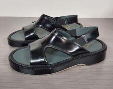 Adieu Paris Slingback Type 43 Sandal Black Leather Womens Size 5 /35   $565